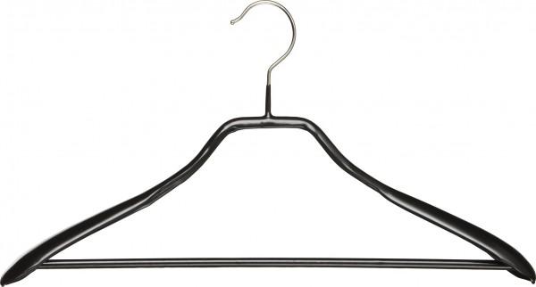 Metallkleiderbügel, mit Schulterverbreiterung: 38 mm und Steg