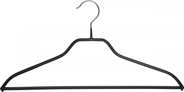 Metallkleiderbügel, mit Steg