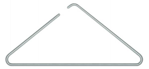 Aluminium-Kleiderbügel, 4 Stück
