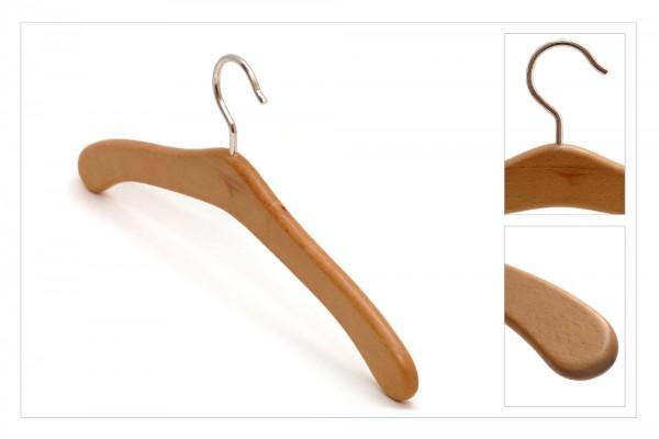 Holz-Kleiderbügel, 4 Stück