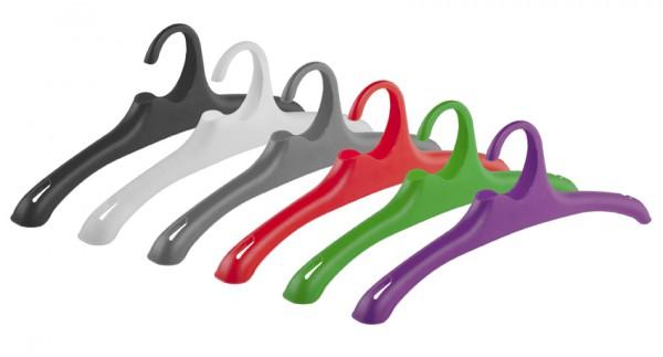 Kunststoff-Kleiderbügel Flex, 10 Stück