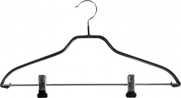Metallkleiderbügel, mit Clipsteg