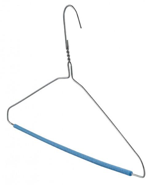Wäschereikleiderbügel Ø 2,3 mm mit Schaumstoffsteg