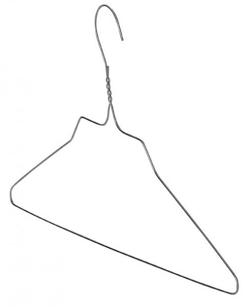 Wäschereikleiderbügel Ø 2,5 mm