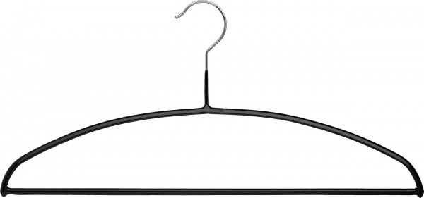 Metall-Strickwarenbügel, mit Steg