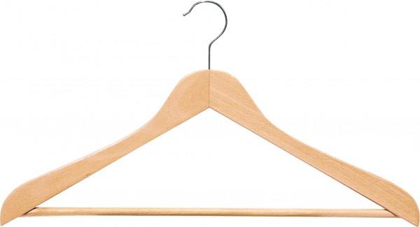 Holz-Formbügel, mit Steg