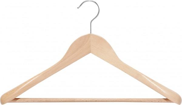 Holz-Schulterbügel | Kleiderbügel mit Schulterverbreiterung und Steg